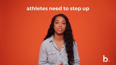 Should Athletes use their Voice? #GirlChat