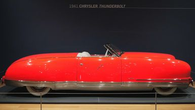Dream Cars - 1941 Chrysler Thunderbolt
