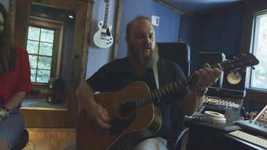 HOP from Zac Brown Band Invites TLL into His PRIVATE Studio