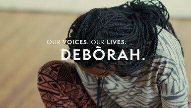 Our Voices. Our Lives. presents DEBORAH AODO HUGHES.