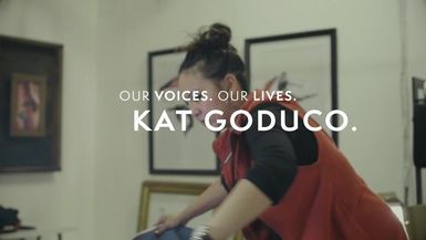 Our Voices. Our Lives. presents KAT GODUCO.