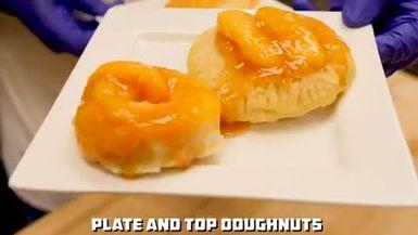 Can We Turn Peach Cobbler Into A Doughnut?
